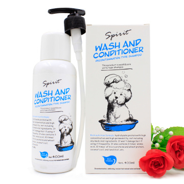 customized Excellent quality soap modern dog shampoo