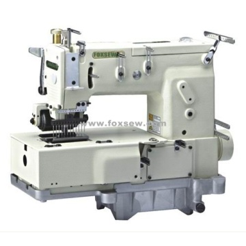 12-needle Flat-bed Double Chain Stitch Sewing Machine