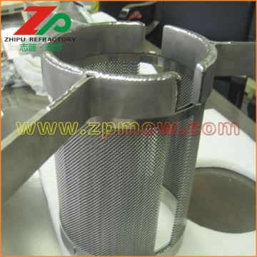 Top purity Tungsten Net Heating Element