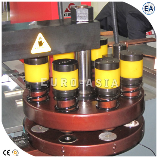 Turret Type Busbar Processing Machine