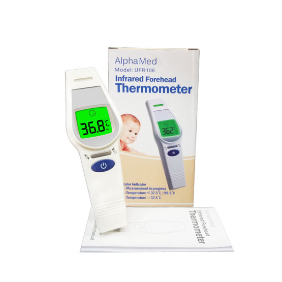 Digital Infrared LCD Forehead Baby Electronic Thermometer
