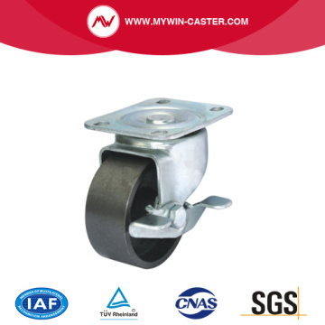 Plate Brake  Heavy Duty Industrial Caster