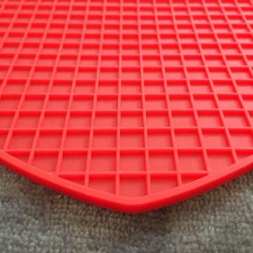 Creative insulated folding silicone mat