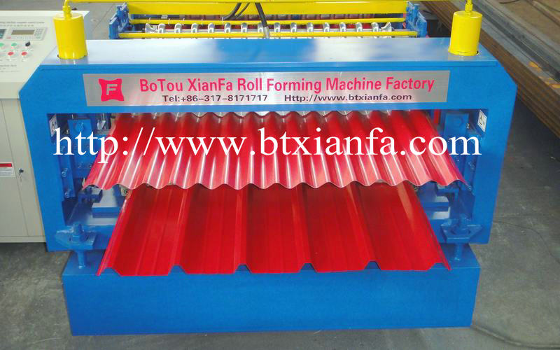 aluminum roofing roll forming machine