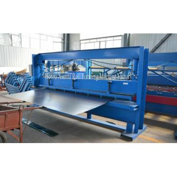 Color Steel Sheet hydraulic shearing mahcine