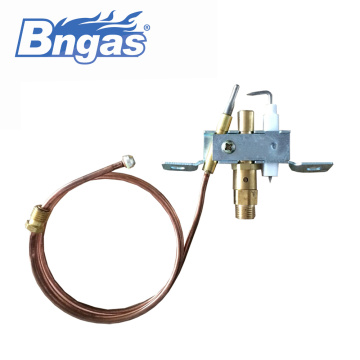 Gas oven parts oxygen detection safety-pilot burner