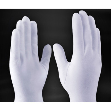 Cotton Safety Gloves Made