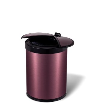 9 L Rose Gold Environmental Protection Smart Trash Can
