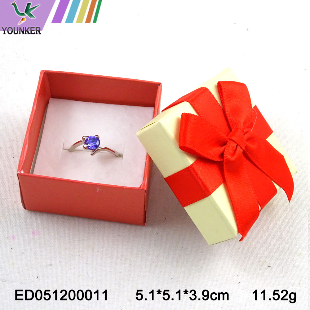Elegant Ribbon Ring Boxes 001