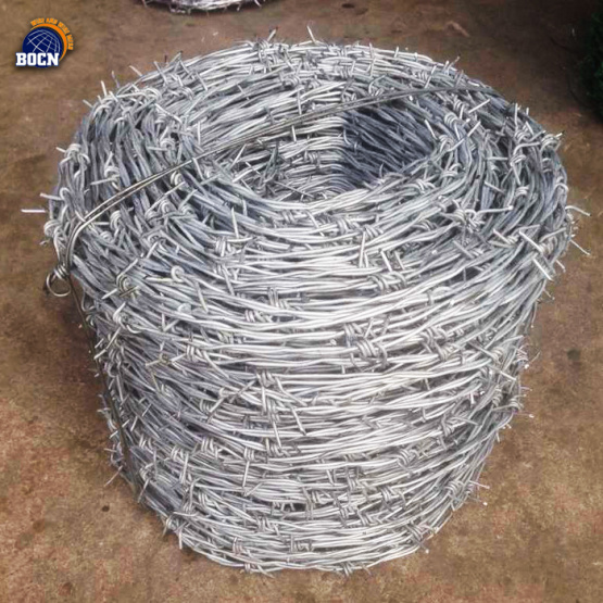 free sample 1.6mm secure barbed fence wire