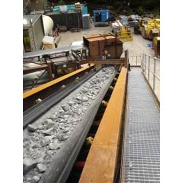 Belt Conveyor for Rock Material