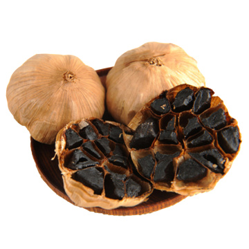 sweet and sour taste black garlic rich nutrition