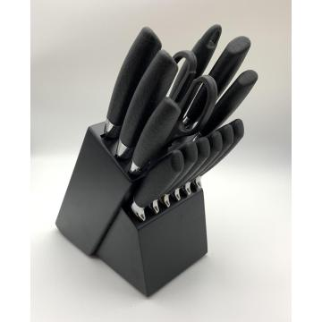14pcs pp handle knife set