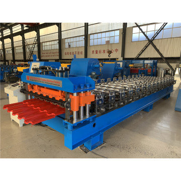 roof tile making glazed tile roll forming machine