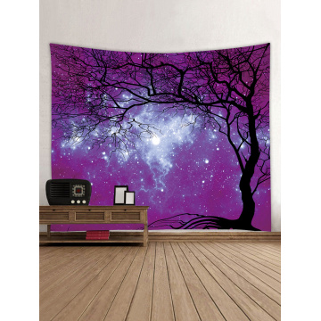 Tapestry Wall Tapestry Wall Hanging Galaxy Tapestry Sky Tapestry Tree Tapestry Night Sky Tapestry for Bedroom Home Dorm Decor
