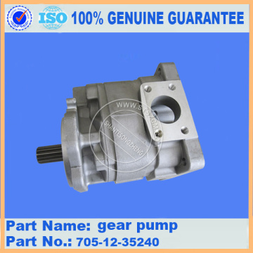 Komatsu spare parts  gear pump 705-12-35240 WA420-3 for Hydraulic system