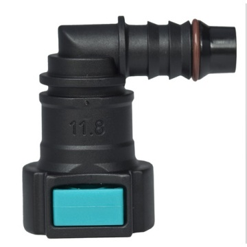 Conductive Quick Connector 11.80 (12) - ID10 - 90° SAE