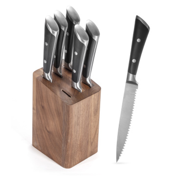 Garwin forged steak knife with double bolsters
