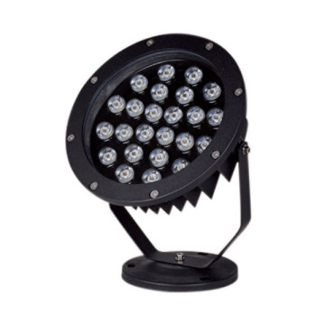 Dimmable Aluminum Black 24W CREE LED Spike Light