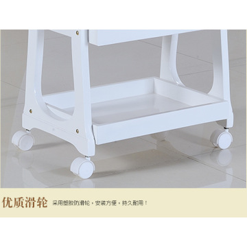 hot sell wooden trolley for salon furniture
