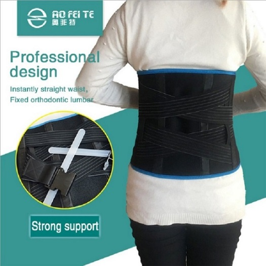 Breathable waist support magnet in waist support
