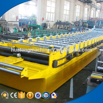 Colored steel galvanized roofing sheet roll forming machine