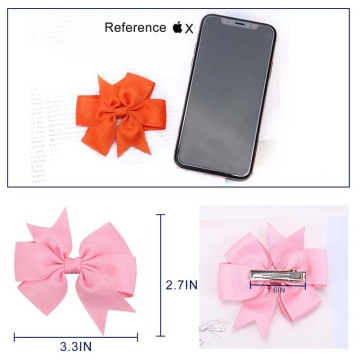 Kordear Ribbon Hair Clips 28P