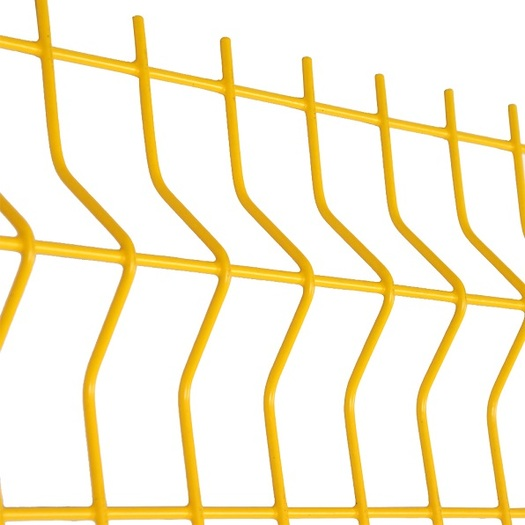 3d Curved Fence Design 4x4 welded wire mesh fence