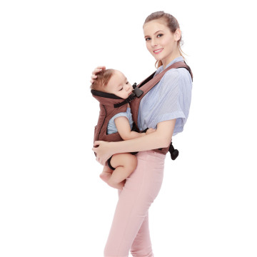 Happy And Comfortable Baby Carrier