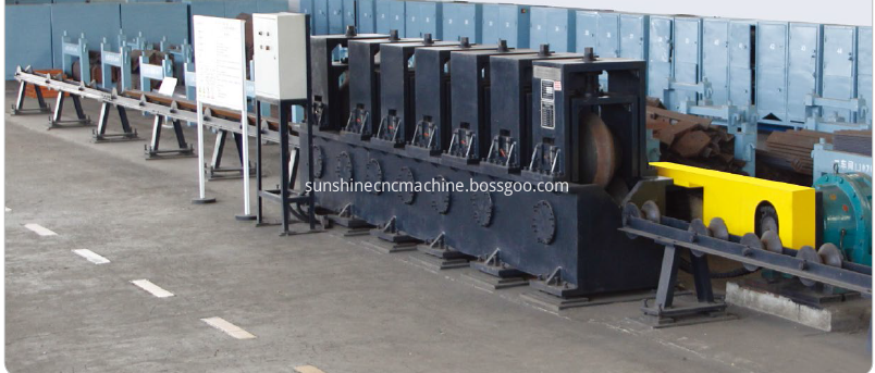 Roller straightening machine