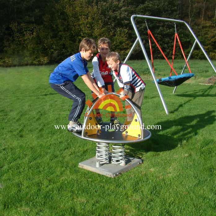 Outdoor Playground Roundaround Structure For Kids