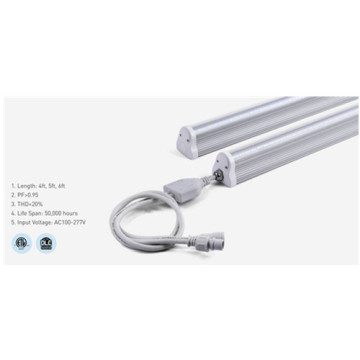 Dimmable Aluminum T8 5000K 6ft LED Tube Light