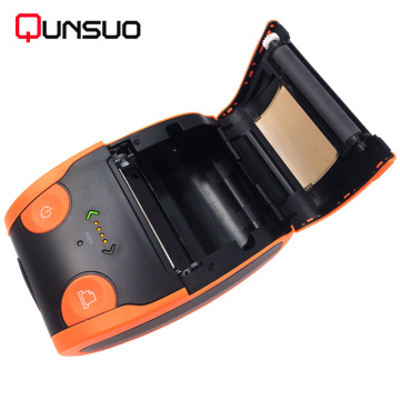 Portable handheld 58mm invoice receipt printer