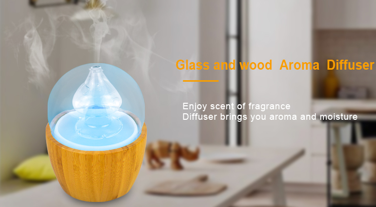 Essential Oil Diffuser Wood