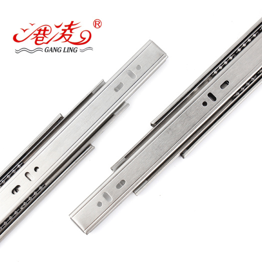 Stainless Steel Single Spring Close Slide 350 mm