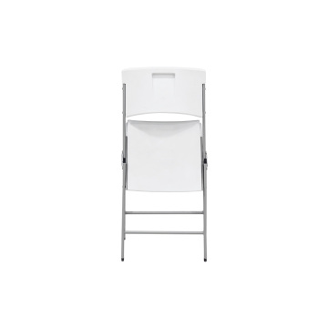Contemporary Commercial Folding Chair 4 Pack White Granite