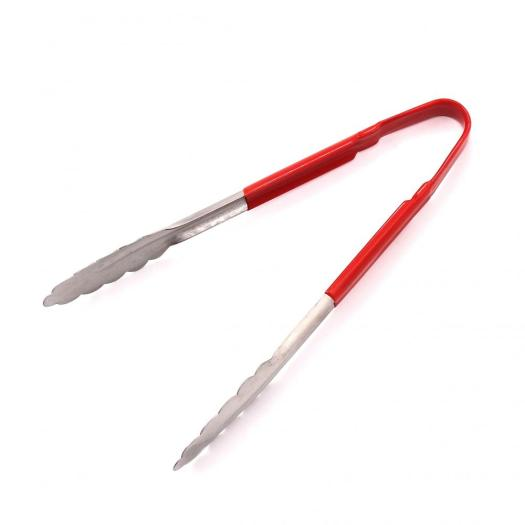 cooking tongs with handle TPR coating