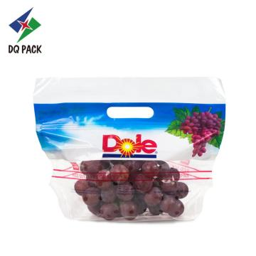 Fruit vent plastic bag with ziplock