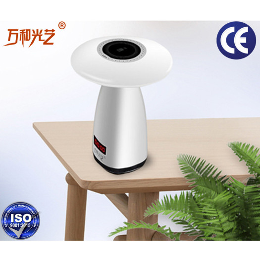led desk lamp mushroom air purification table light