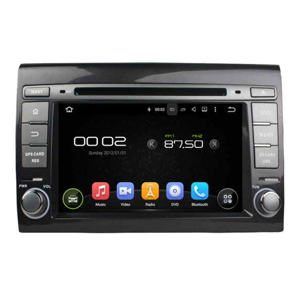 Fiat Bravo Car Audio Android 7.1.1 system