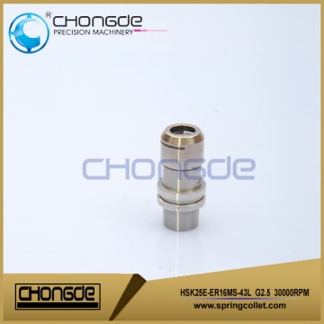 HSK25E CNC Collet Chucks Holders