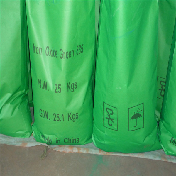 Iron Oxide Green 5605 For Concrete