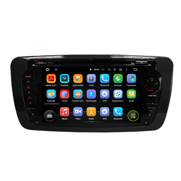 Android Car DVD Player For Seat Ibiza 2013