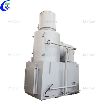 Durability smokeless incinerator waste