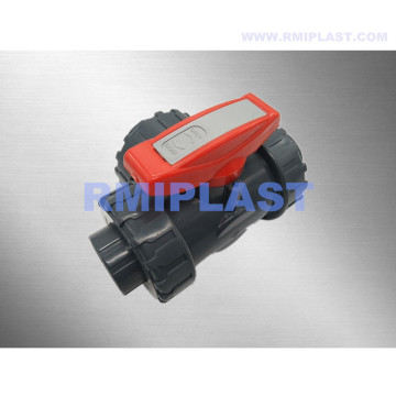 PP Three Way Valve Manual Type PN10