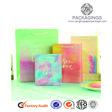 Creative Logo Print Paper Bags For Gift