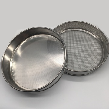 Lab test sieve for granulation