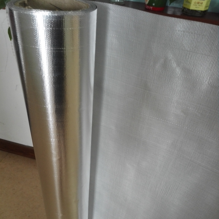 Aluminum Foil Coated Glass Fiber Cloth