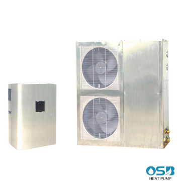 DC Inverter Heat Pump With External Heat Exchanger