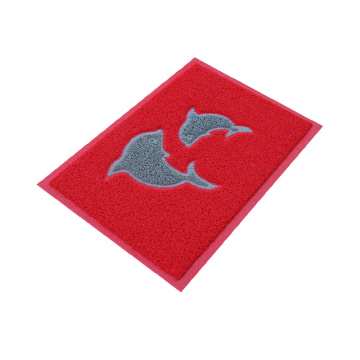 Washable entrance PVC door mat with Logo